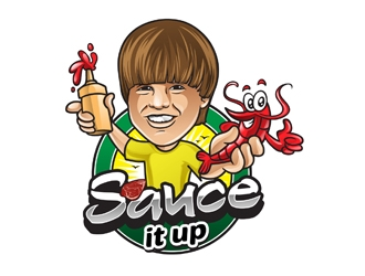 Sauce it up logo design