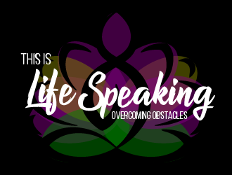 This is Life Speaking logo design