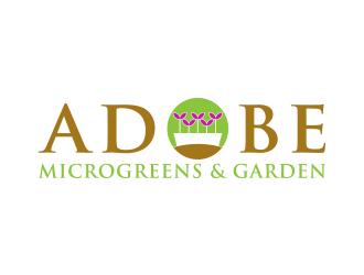 Adobe Microgreens & Garden logo design