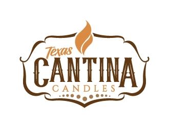 Texas Cantina Candles logo design