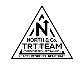 North & Co. TRT Team logo design