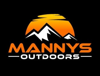 Mannys Outdoors logo design