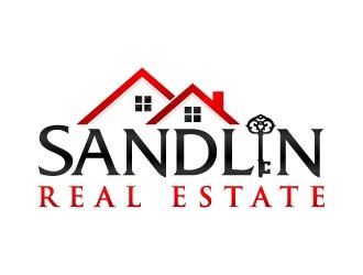 Sandlin Real Estate logo design