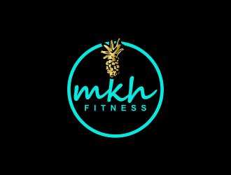 MKH Fitness  logo design