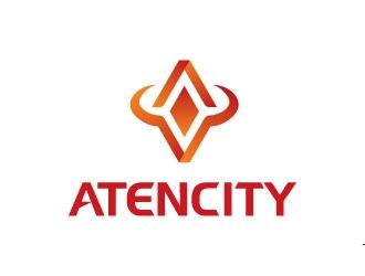 Atencity logo design