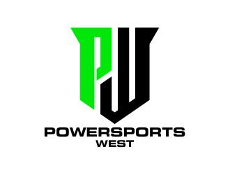 Powersports West logo design