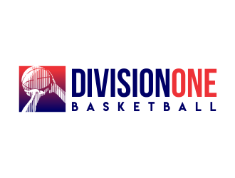 Division One Basketball logo design