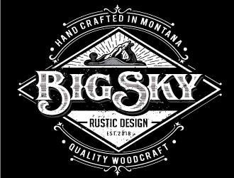 Big Sky Rustic Design logo design