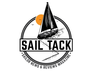 Sail Tack (mini font: Sailor News & Reviews Magazine)  logo design
