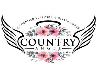 Country Angel  logo design