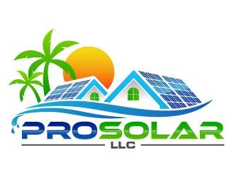 Pro Solar LLC logo design