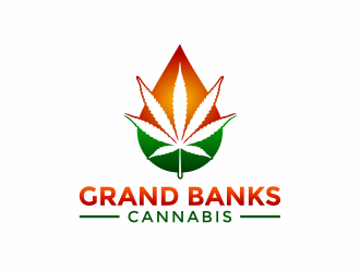 Grand Banks Cannabis logo design