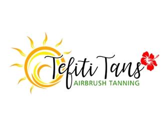 Tefiti Tans logo design