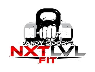 Andy Sidor's  Next Lvl Fit logo design