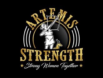 Artemis Strength  logo design by MAXR