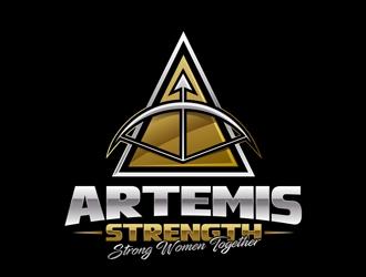 Artemis Strength  logo design by DreamLogoDesign
