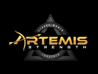 Artemis Strength  logo design by daywalker