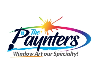 The Paynters logo design