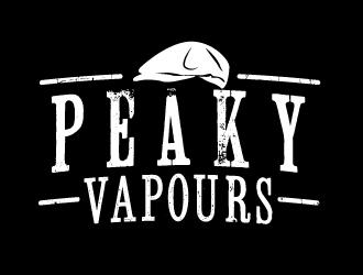 Peaky Vapours logo design