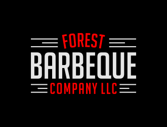 Forest Barbeque Company LLC logo design