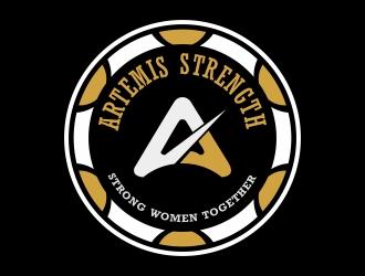 Artemis Strength  logo design by cikiyunn