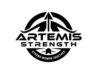 Artemis Strength  logo design by deejava