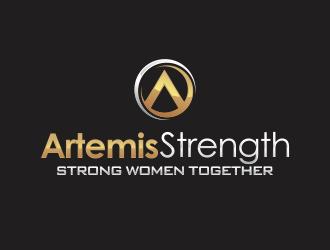 Artemis Strength  logo design by YONK