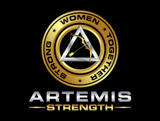 Artemis Strength  logo design
