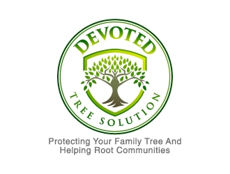 Devoted Tree Solutions logo design