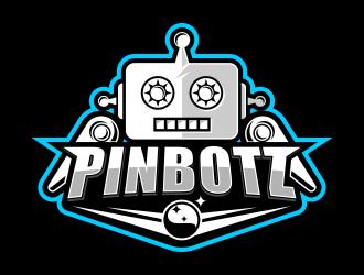 Pinbotz logo design