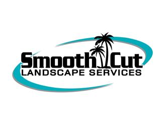 Smooth Cut Landscape Services logo design