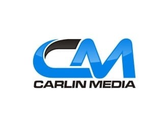 Carlin Media logo design