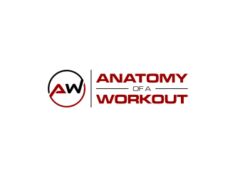 ANATOMY OF A WORKOUT logo design