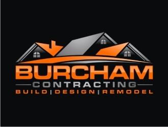 Burcham Contracting logo design
