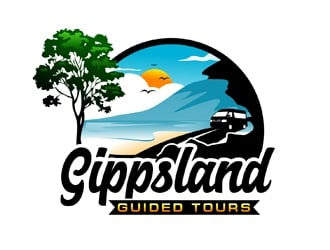 Gippsland Guided Tours logo design