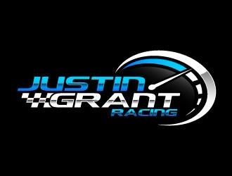 Justin Grant Racing logo design