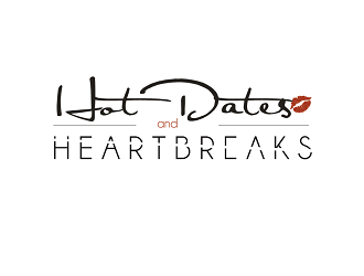 Hot Dates & Heartbreaks logo design