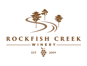 Rockfish Creek Winery logo design