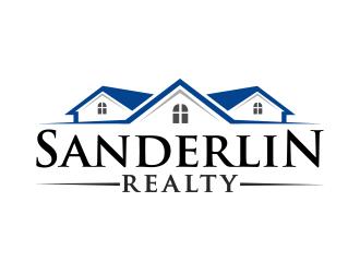 Sanderlin Realty logo design