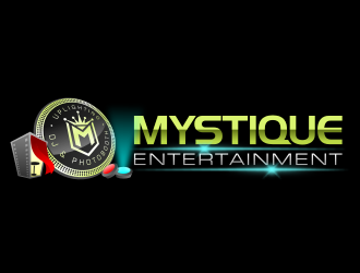 Mystique Entertainment logo design
