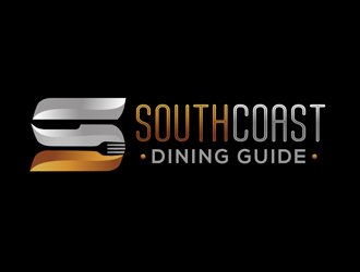 Southcoast Dining Guide logo design