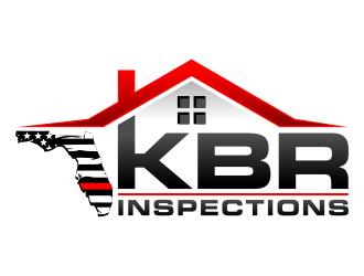 KBR Inspections logo design