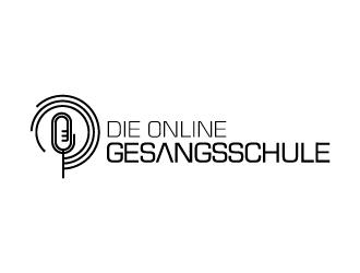 Die Online-Gesangsschule logo design
