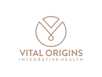 Vital Origins Integrative Health logo design