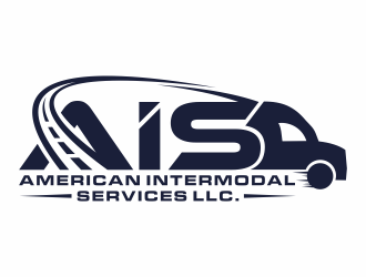 AMERICAN INTERMODAL SERVICES LLC. logo design