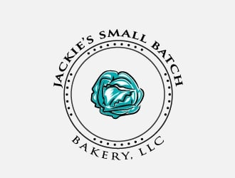 Jackies Small Batch Bakery, LLC logo design