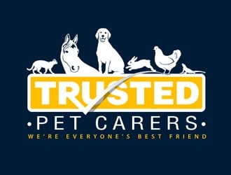 Trusted Pet Carers logo design