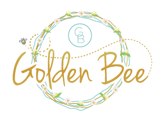 Golden Bee logo design