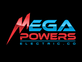 MegaPowers logo design