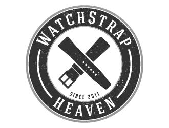 WatchStrapHeaven logo design